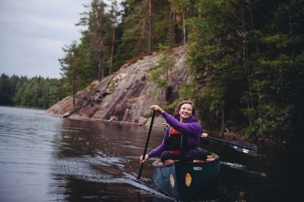 Wilderness Canoeing in Nuuksio National Park