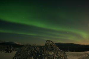 Northern Lights over West Lapland, Foto: Hannu Rauhala