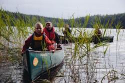Kanoottiretkellä perheen kanssa, foto: Outdoors Finland