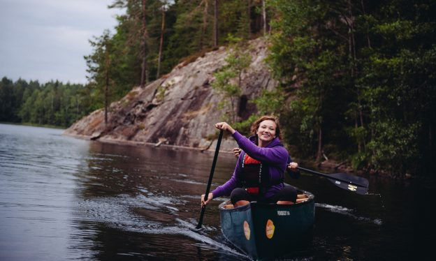 Wilderness Canoeing in Nuuksio