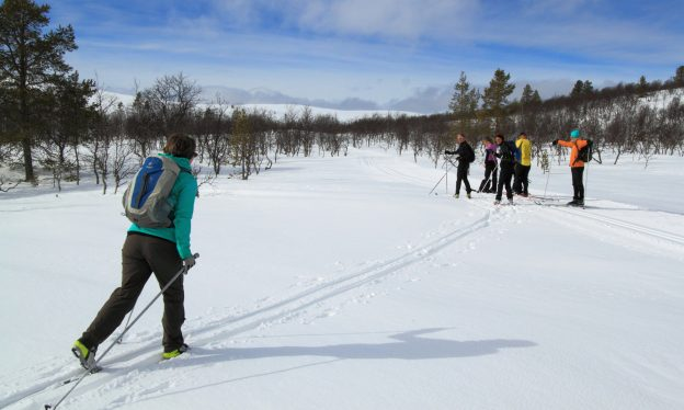 Beginner ski week in Lapland