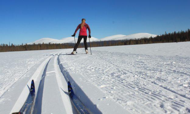 Ski Tour Ylläs-Pallas-Hetta in Lapland