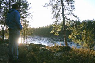 Autumn hiking in Nuuksio National Park