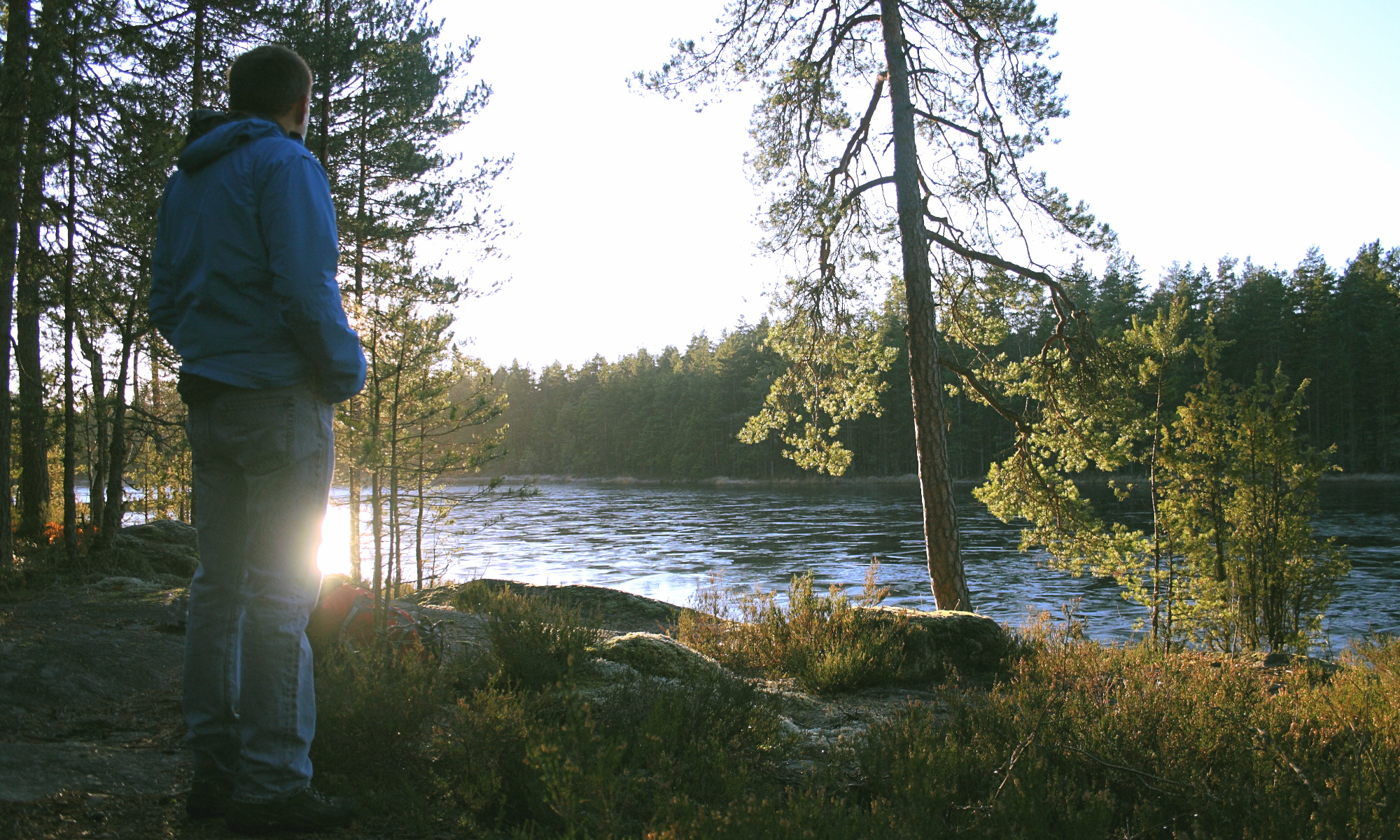 Autumn hiking in Nuuksio National Park