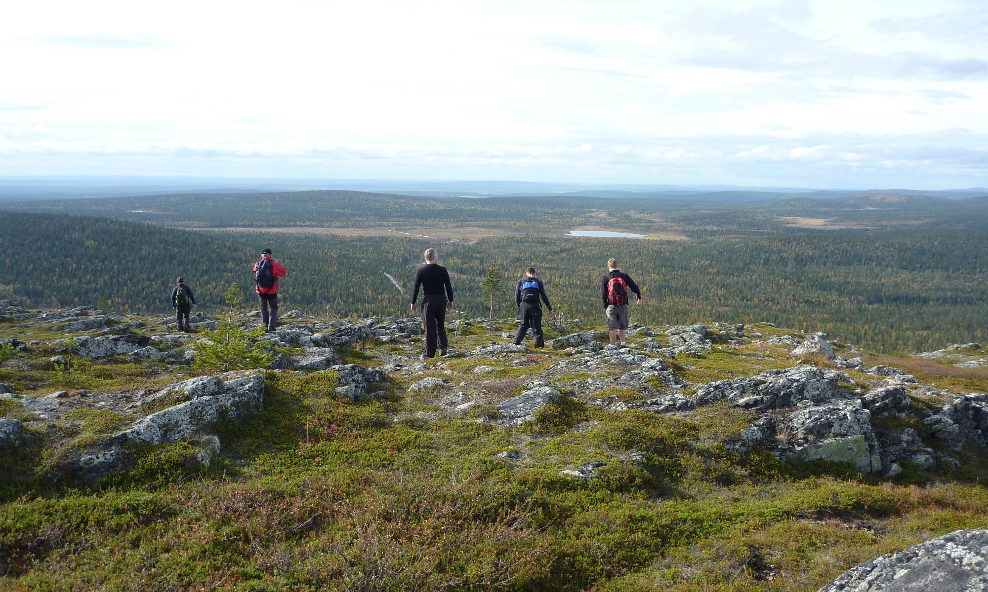Hiking week in Lapland