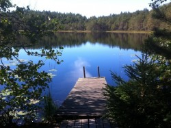 Sauna by the lake in Nuuksio National Park