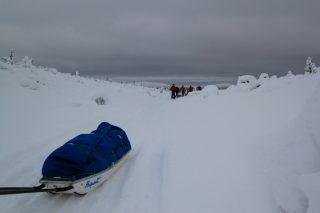 Mid Winter Backcountry ski tour