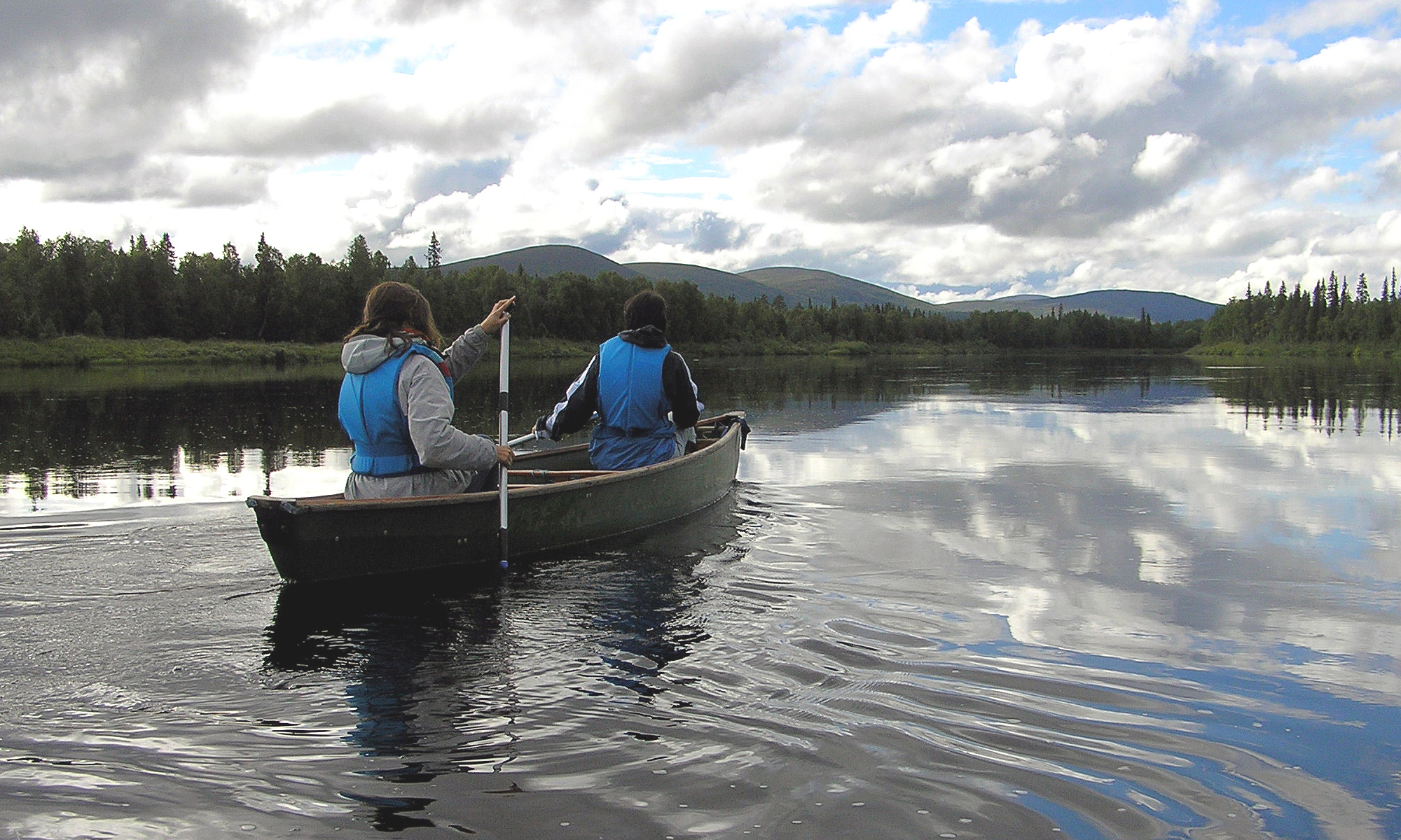 Canoeing Day in Lapland