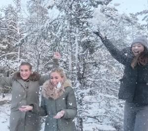 Enjoying winter in Nuuksio
