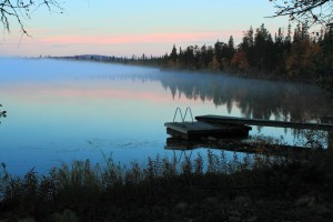 Evening-mist-in-Lapland