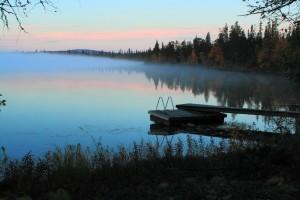Evening-mist-in-Lapland