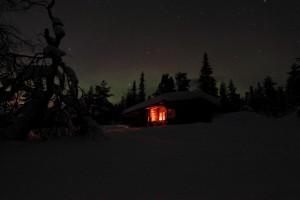 Lapland-Cottage-Aurora-Borealis