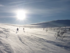 Ski-tour-in-Lapland
